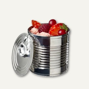 Fingerfood-Becher Tin can