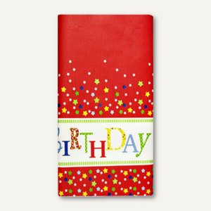 Artikelbild: Motiv-Tischdecke Happy Birthday