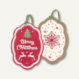 Artikelbild: Weihnachtliche Geschenkanhänger BAUM