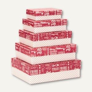Artikelbild: International Christmas - Kartonagen - Boxen zur Weihnachtszeit