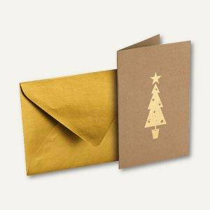Artikelbild: Weihnachtskarten DIN A6 + Umschlag DIN C6