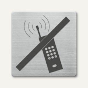 Artikelbild: quadratische Piktogramme Handy nein