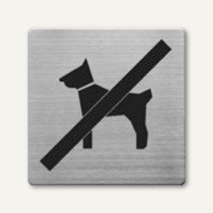 quadratische Piktogramme Hunde verboten