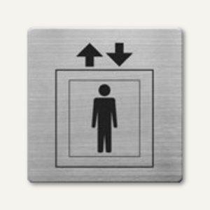 Artikelbild: quadratische Piktogramme Aufzug