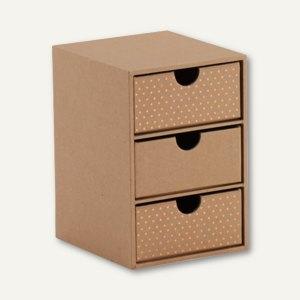 Artikelbild: KRAFT AND POLKA 3er Schubladenbox