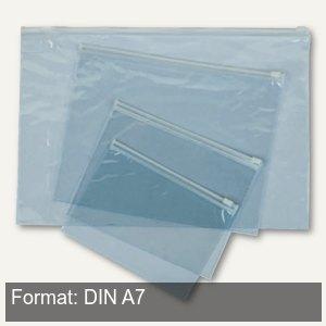 Gleitverschluss-Tasche Clear bag DIN A7