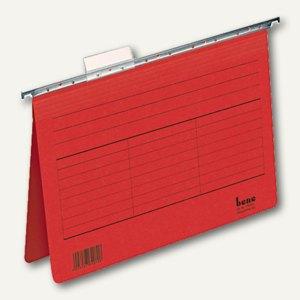 Bene Karton-Hängehefter Vetro Mobil, für DIN A4, rot, 5 Stück, 116705 RT