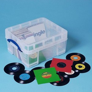 Aufbewahrungsbox 21 Liter XL für Vinyl-LPs