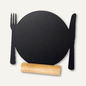 Artikelbild: Tisch-Kreidetafel Silhouette TELLER