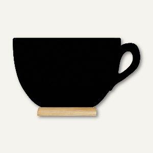 Artikelbild: Tisch-Kreidetafel Silhouette TASSE Mini