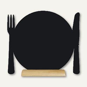 Artikelbild: Tisch-Kreidetafel Silhouette TELLER Mini