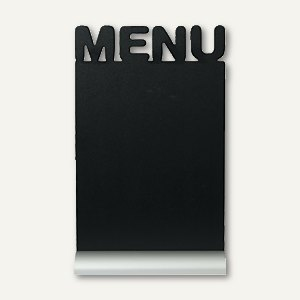 Artikelbild: Tisch-Kreidetafel Silhouette MENU