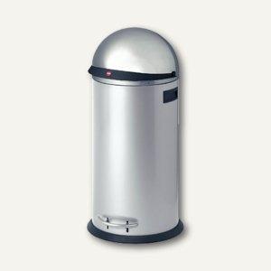 Hailo Tret-Abfallsammler KickVisier 50, 50 Liter, edelstahl, 0850-259
