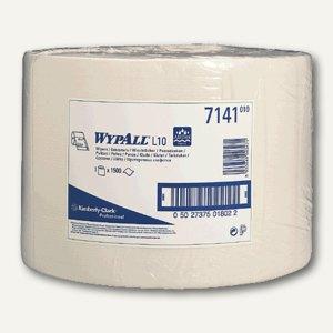 Kimberly-Clark WYPALL® L10 Wischtücher, Großrolle, 1500 Tücher, 7141