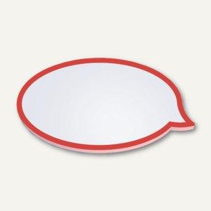 Moderationskarten - Sprechblase