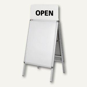 Aufsatzschild für Plakatständer A1