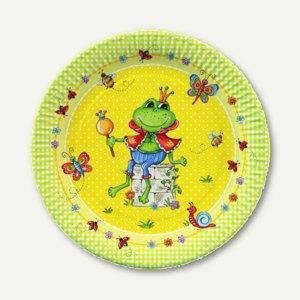 Pappteller Prince Frog