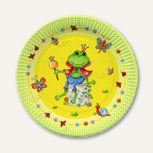 Artikelbild: Pappteller Prince Frog