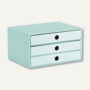 Artikelbild: 3er Schubladenbox für DIN A4 - JUMP JADE