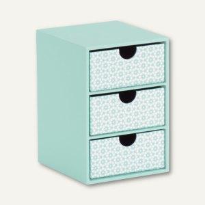 Artikelbild: 3er Schubladenbox - DREAM JADE / SALMON