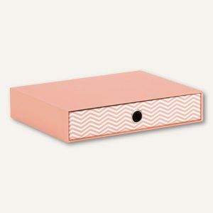 Schubladenbox für DIN A4 - JUMP SALMON