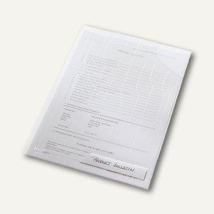 LEITZ Sicht- u. Prospekthüllen CombiFile, 40 Blatt, farblos, 5 Stück, 4726-00-03