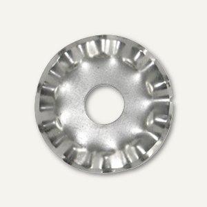 Artikelbild: Ersatzklingen für Kreis-Rollschneider Wellenschnitt