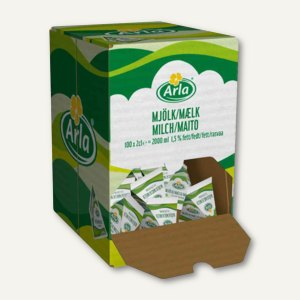 Arla Milch-Portion 1