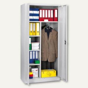 Artikelbild: Garderoben-Stahlschrank/extra tief