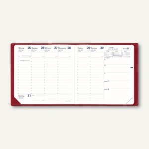 Artikelbild: Executif Club Terminkalender - 16 x 16 cm