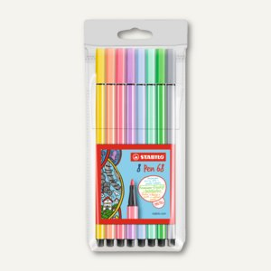 Fasermaler Pen 68 Pastel