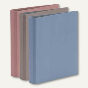 Ringbuch KHAKI - BLUE - BLUSH