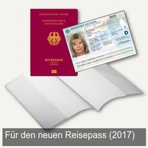 Schutzhülle Reisepass (NEU - seit 03.2017)