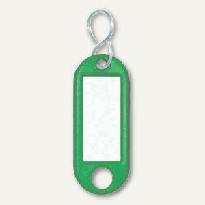 Schlüsselanhänger Kunstststoff mit S-Metallhaken