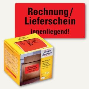 Artikelbild: Hinweis-Etikettenrolle - Rechnung innenliegend!