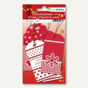 Artikelbild: 3D Weihnachts-Geschenkanhänger White Christmas
