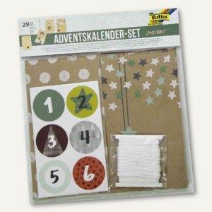 Artikelbild: Adventskalender-Set - 24 Adventstütchen NATURE