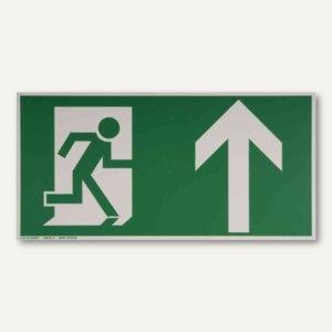 Artikelbild: Hinweisschild Rettungsweg - nach oben