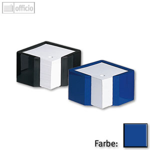 Arlac Zettelbox royalblau, 25724