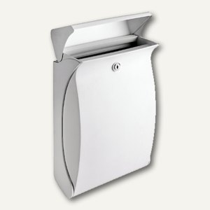 Burg-Wächter Briefkasten Swing, weiß, Kunststoff, Swing 4905 W