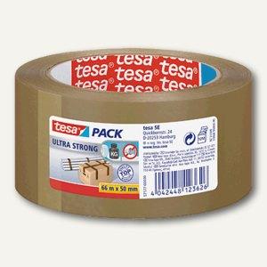 Tesa Packband PVC, 50 mm x 66 m, braun, 57177