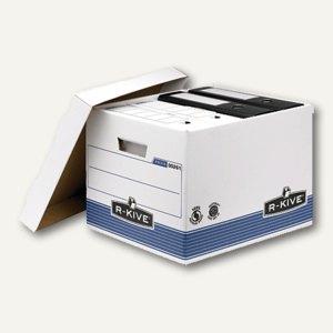 Fellowes R-Kive PRIMA Archivbox Standard, 333x285x390mm, 10 Stück, 0026101