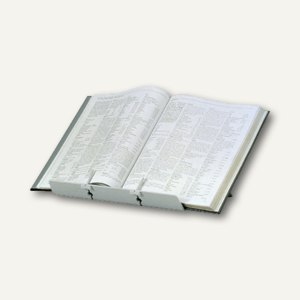"""Fellowes Konzepthalter """"Booklift"""", 2 justierbare Halterungen, silber, 21140"""
