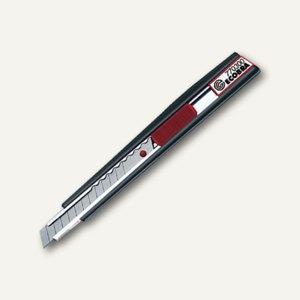 Ecobra Cutter, Metall/Kunststoff, Breite: 9 mm, schwarz/rot, 770300