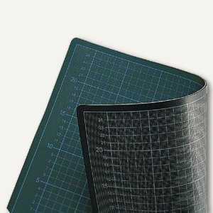 Ecobra Schneidunterlage grün/schwarz, 60 x 45 cm, 706045