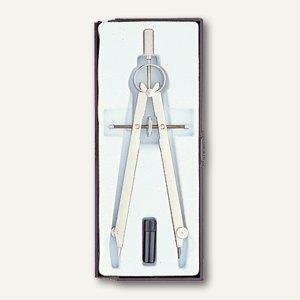 Ecobra Geometriezirkel, Arbeitsbereich bis Ø 310 mm, Metall vernickelt, 3754