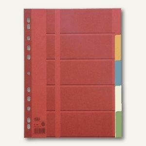 Elba Blankoregister DIN A4, 5 Blatt farbig, 400034589