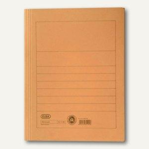Elba Aktenmappe DIN A4, bis zu 150 Blatt, orange, 100091163