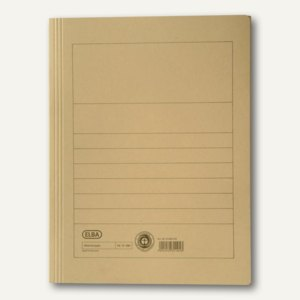 Elba Aktenmappe DIN A4, bis zu 150 Blatt, chamois, 100091159