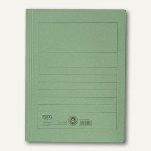 Elba Aktenmappe DIN A4, bis zu 150 Blatt, grün, 100091161